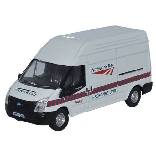 Oxford Diecast Ford Transit LWB- Network Rail Response Unit