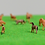 Thumbnail: 1:150/N Scale Painted Model Horses - x5 or x10