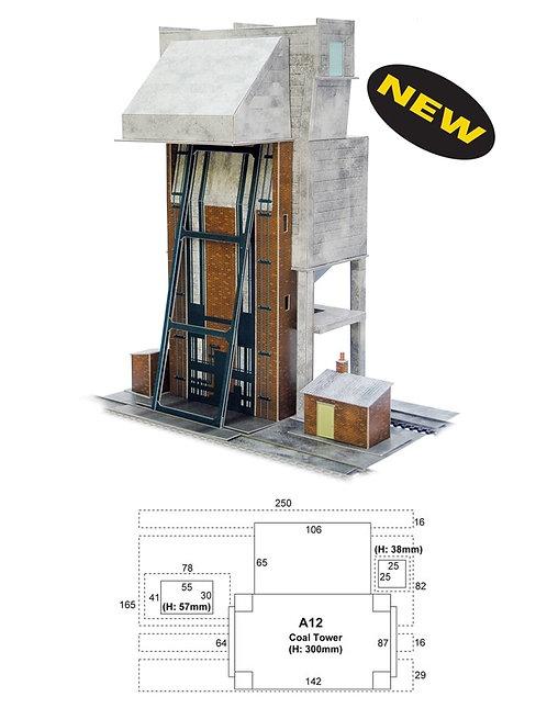Superquick Model Card Kit - Coaling Tower