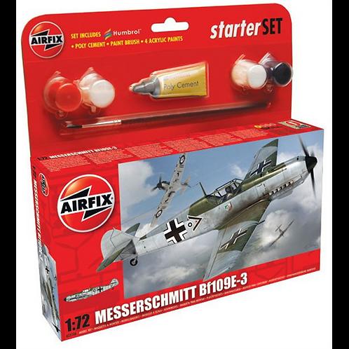 Airfix Starter Set - Messerschmitt BF109E-3