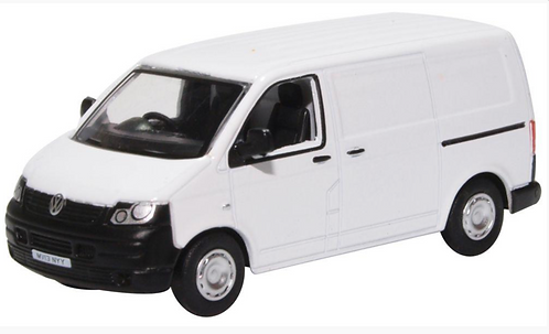 Oxford Diecast VW T5- Plain White