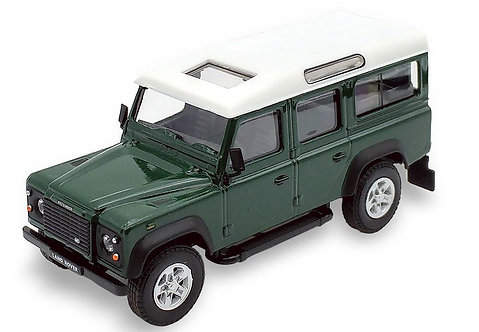 Cararama Land Rover Defender - Bronze Green