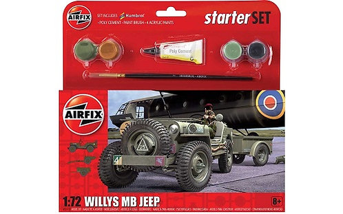 Airfix Starter Set - Willys MB Jeep