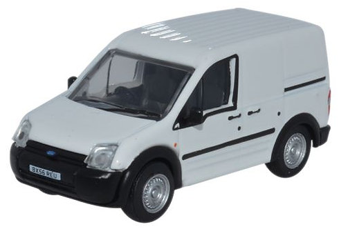 Oxford Diecast Ford Transit Connect- Plain White