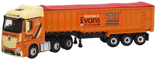 Oxford Diecast Mercedes Actros SSC Tipper - Ronnie S Evans Livery