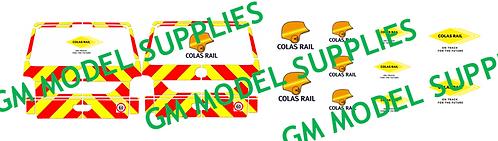 VW T5 Conversion Kit- Colas Rail Livery