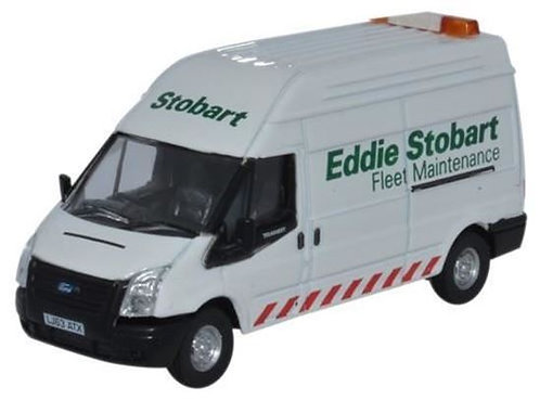 Oxford Diecast Ford Transit LWB- Eddie Stobart Fleet Maintenance