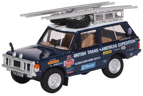 Oxford Diecast Range Rover Classic- Darien GAP