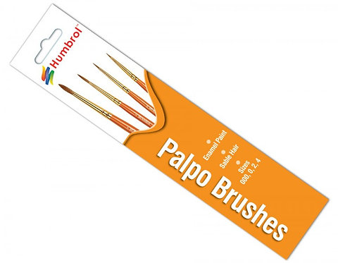 Humbrol Palpo Brush Set
