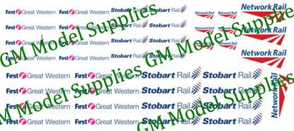 Large Sheet- Railway Operator Logos