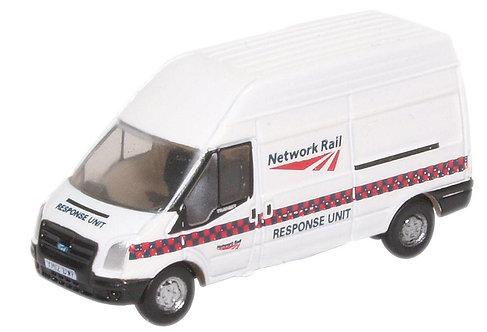 Oxford Diecast Ford Transit LWB - Network Rail Response Unit