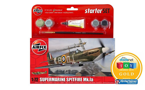 Airfix Starter Set - Supermarine Spitfire Mk.Ia