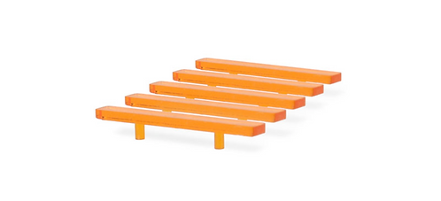 Model Light Bar Large Modern Flat Design- Orange