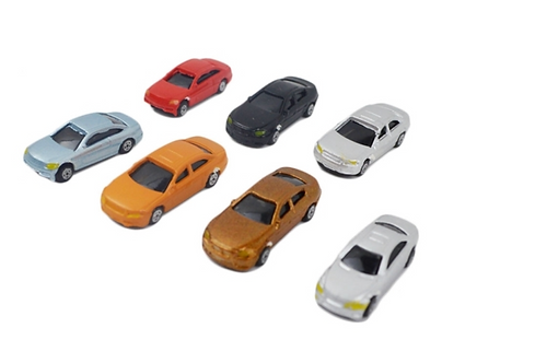 Model Plastic Cars/Vehicles - Various Scales
