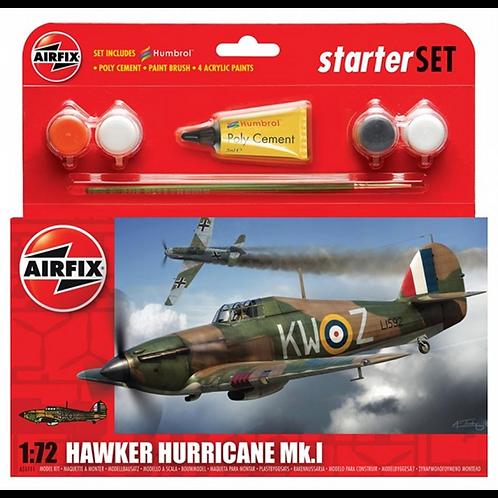 Airfix Starter Set - Hawker Hurricane Mk1