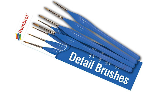 Humbrol Detail Brush Set