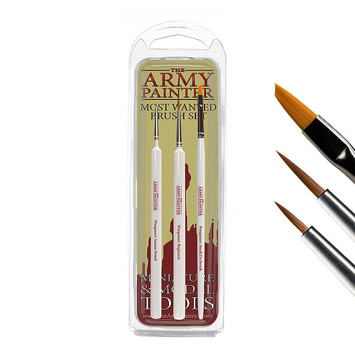 The Army Painter - The Most Wanted Brush Set
