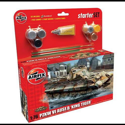 Airfix Medium Starter Set - King Tiger Tank
