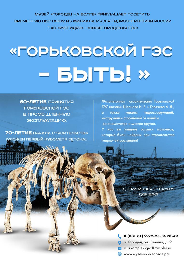 Горьковской ГЭС - БЫТЬ!