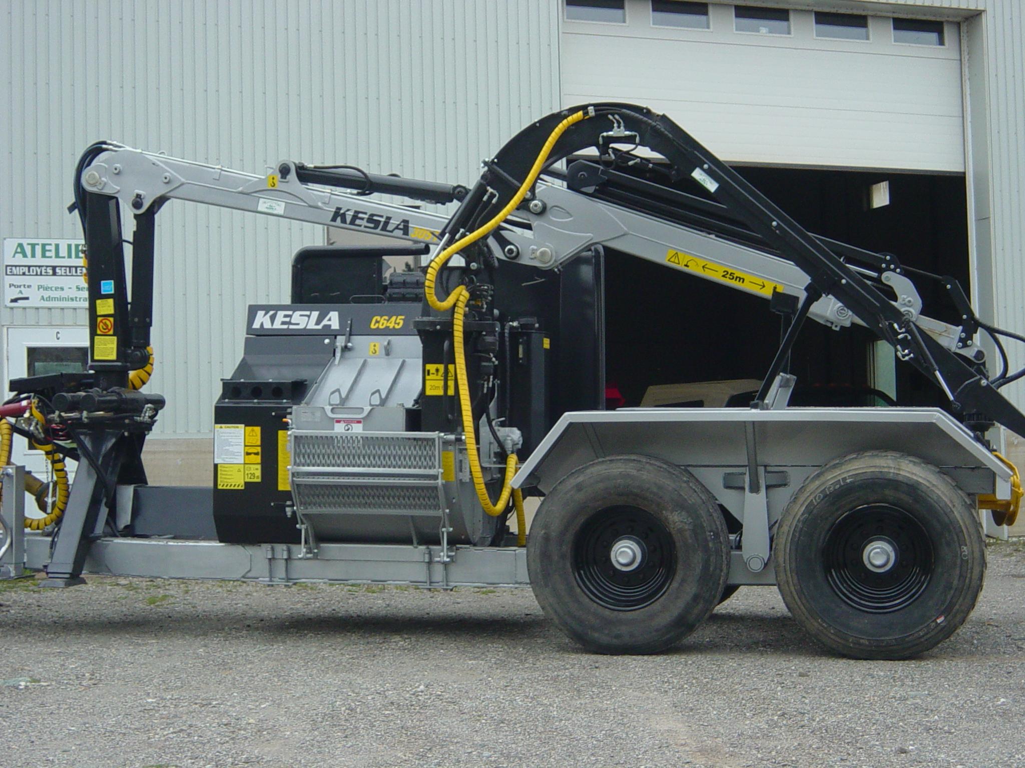 Chipper Kesla pour Biomasse