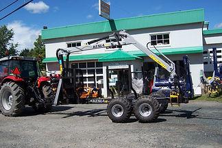 Remorque forestière Kesla 92, 9 tonnes, standard