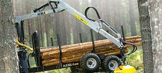Chargeuse à bois Kesla 305 et 305T