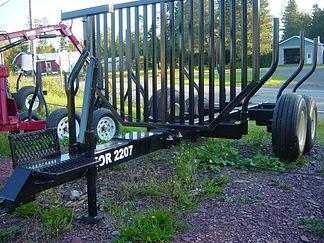 Remorque forestière For2207, 7 tonnes