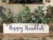 Centerpiece Box - Holidays - Happy Hanuk