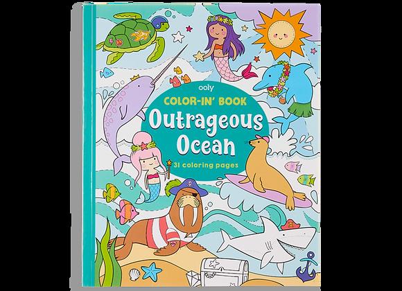 Outrageous Ocean Coloring Book