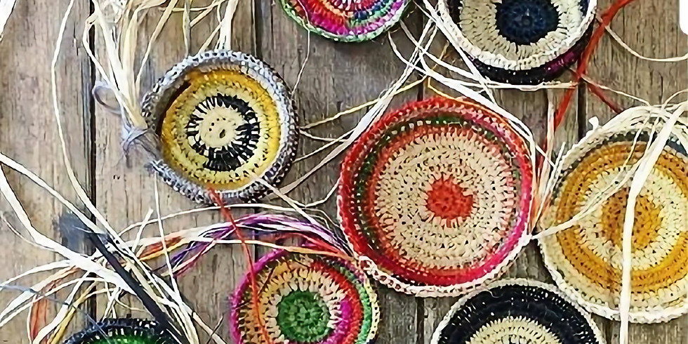 Adult Craft BASH! Coiled Basket Making