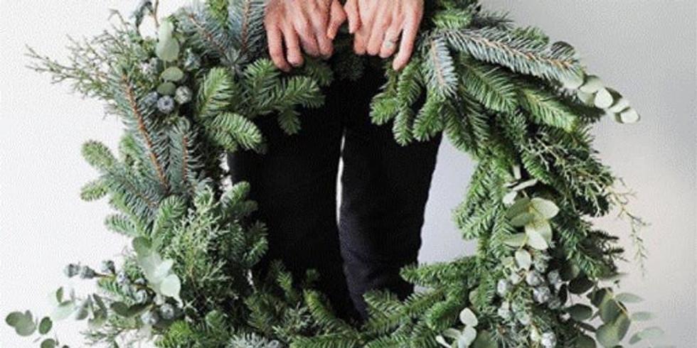 Holiday Pine Wreath Workshop