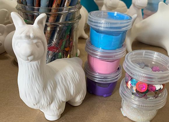 Llama Take Out Craft