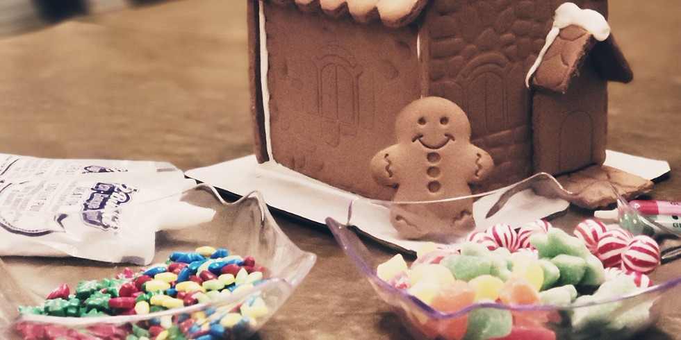 Adult Craft Bash: Gingerbread House Decorating or Holiday Ceramics