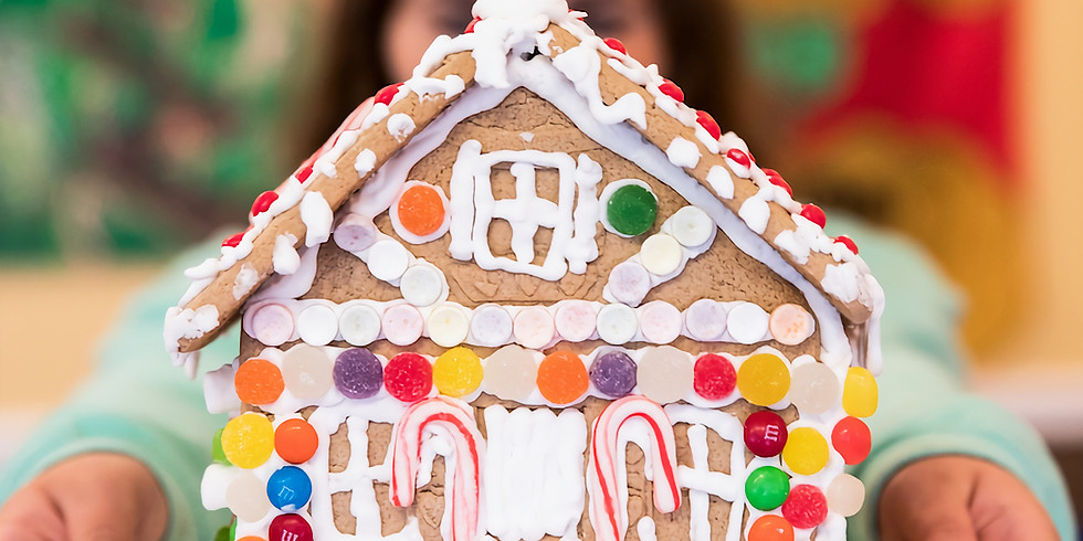Kids Night OUT! Gingerbread House Decorating