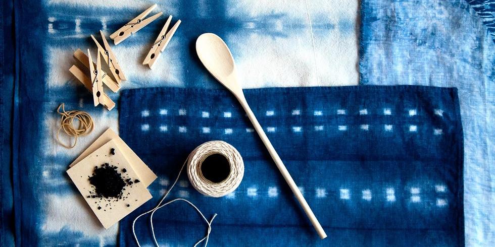 Adult Craft BASH! Shibori Indigo Dyeing Workshop