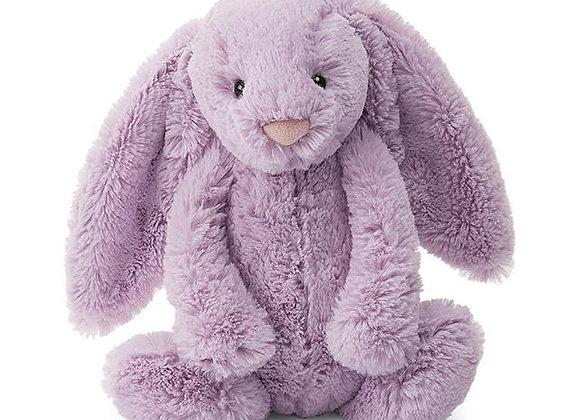 I am Small Bashful Lilac Bunny