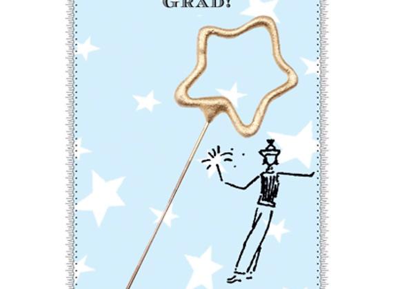 GRADUATION SPARKLER CARD
