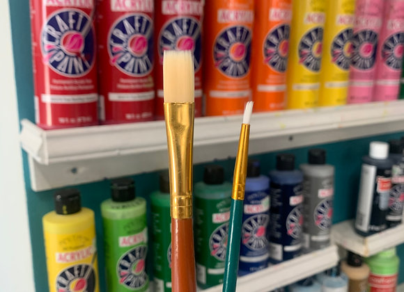 Take Out Craft PAINT BRUSHES