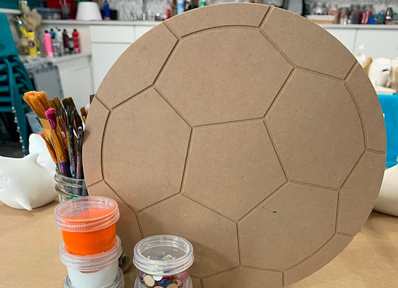 Soccer Ball Take Out Craft