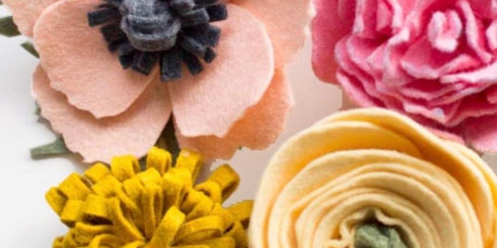 Intro to Felt Flowers