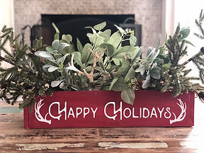 Centerpiece Box - holidays - Happy Holid