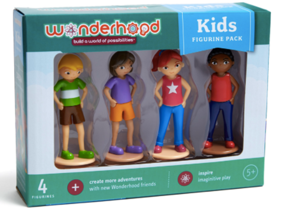 Wonderhood Kids (4 figurines)