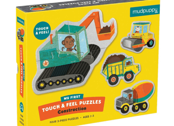 Touch & Feel Puzzles - My First Construction Site