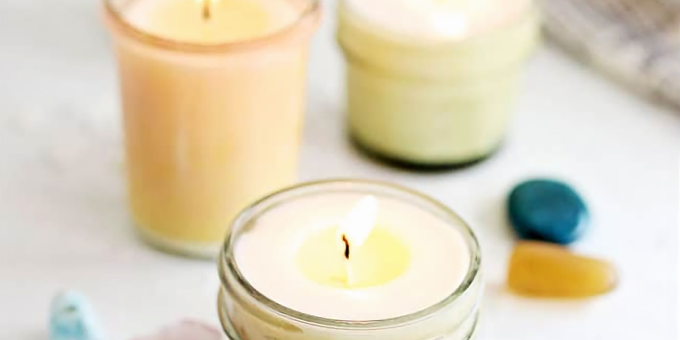 Adult Craft BASH! Candle Pouring w/ Crystals Workshop