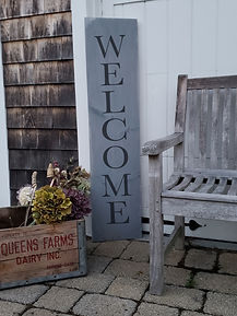 porch welcome sign gray charcoal (2).jpg