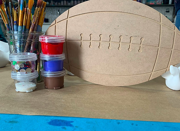 Football Take Out Craft