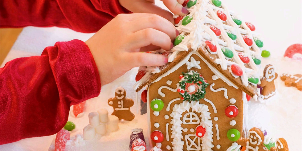 Friends and Family Gingerbread Decorating