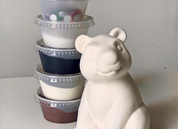 Take Out Craft Ceramic Bear