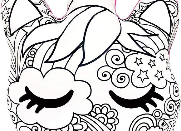 Color Me! Unicorn Pillow
