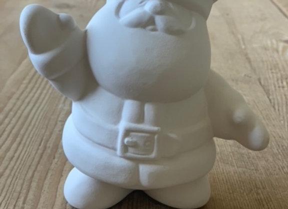 Take Out Craft Ceramic Santa